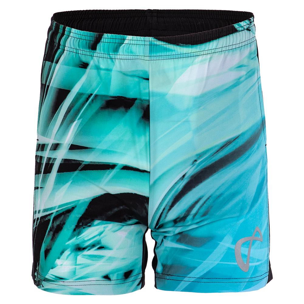 Boys ` Legacy Woven Tennis Short Shattered