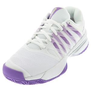 Women`s Ultrashot 2 Tennis Shoes White and Fairy Wren