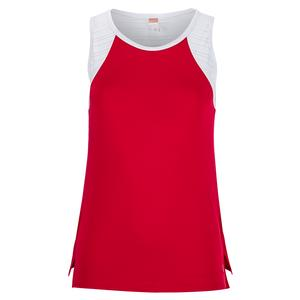 Women`s Wildfire Tennis Tank Berry