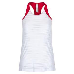 Women`s Wildfire Tennis Tank White