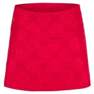 Women`s Wildfire Tennis Skort Berry Print