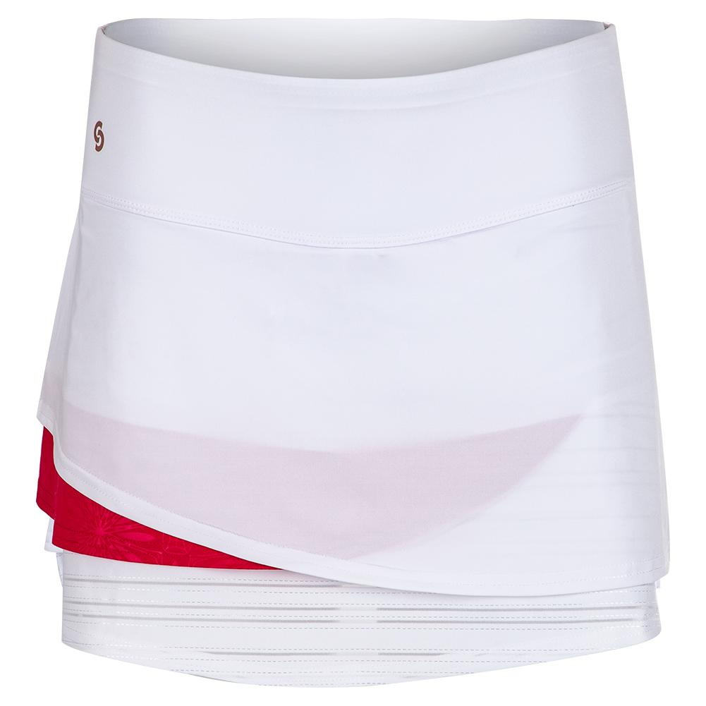 Women's Wildfire Tennis Skort White