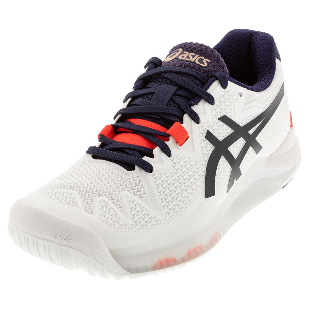Women's Gel- Resolution 8 Tennis Shoes White And Peacoat
