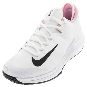 Women`s Air Zoom Zero Tennis Shoes White and Black