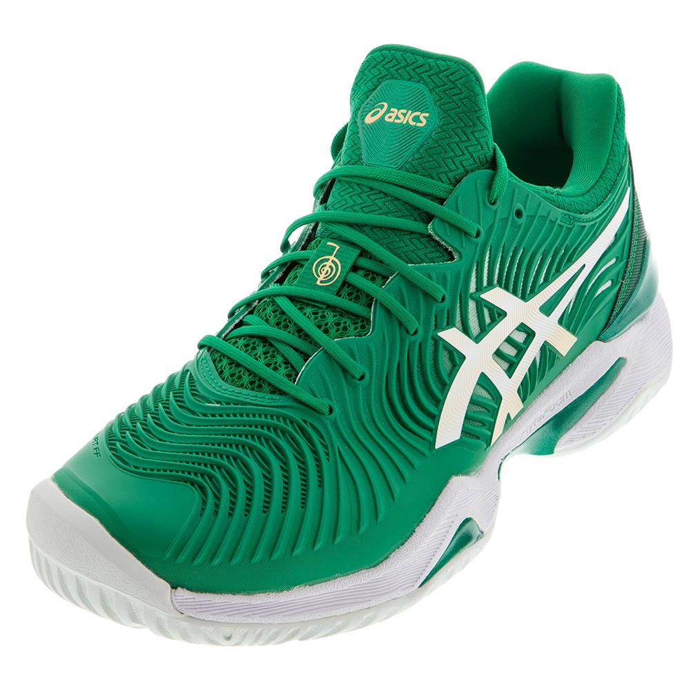 Men's Court Ff Novak Tennis Shoes Kale And White