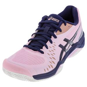 Women`s GEL-Challenger 12 Clay Tennis Shoes Cotton Candy and Peacoat