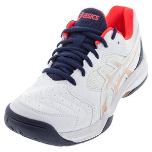 Women`s GEL-Dedicate 6 Tennis Shoes White