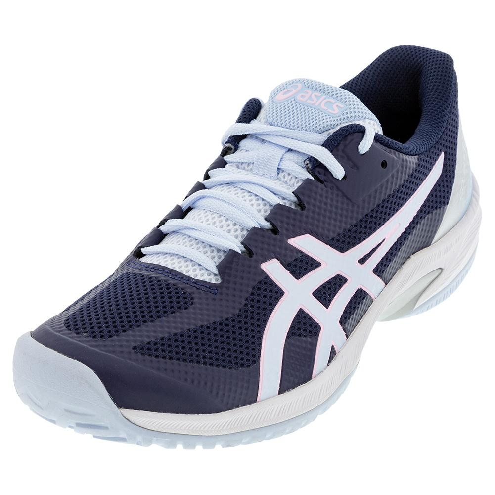Women's Court Speed Ff Tennis Shoes Peacoat And Soft Sky