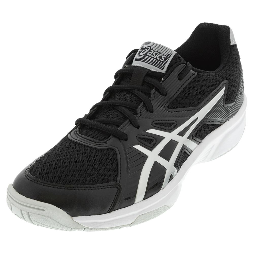 Men's Upcourt 3 Squash Shoes Black And Pure Silver