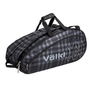 Team Combi Tennis Bag Black and Plaid