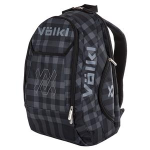 Team Backpack Black and Plaid