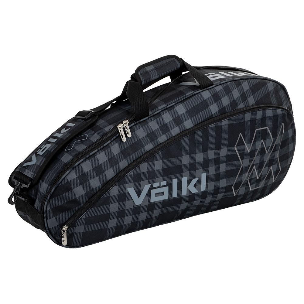 Team Pro Tennis Bag Black And Plaid