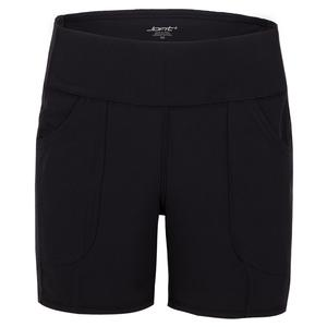 Women`s Pull On Tennis Short Black