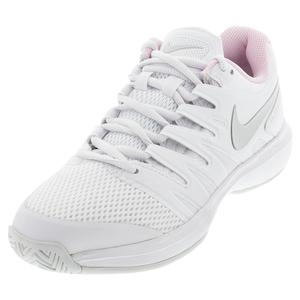 Women`s Air Zoom Prestige Tennis Shoes White and Photon Dust