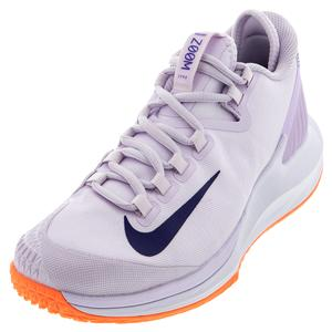 Women`s Air Zoom Zero Tennis Shoes Barely Grape and Regency Purple