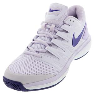 Women`s Air Zoom Prestige Tennis Shoes Barely Grape and Regency Purple