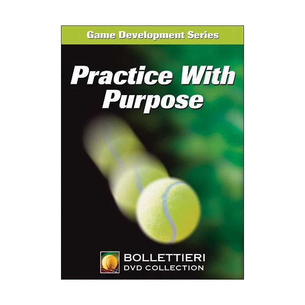 Practice With Purpose DVD About the ProductGet the most out of your practice time using the techniques and training methods proven to achieve the best results Like a oneonone lesson with Nick this DVD give you an inside look at the IMGBollettieri Academy and the kind of practice i