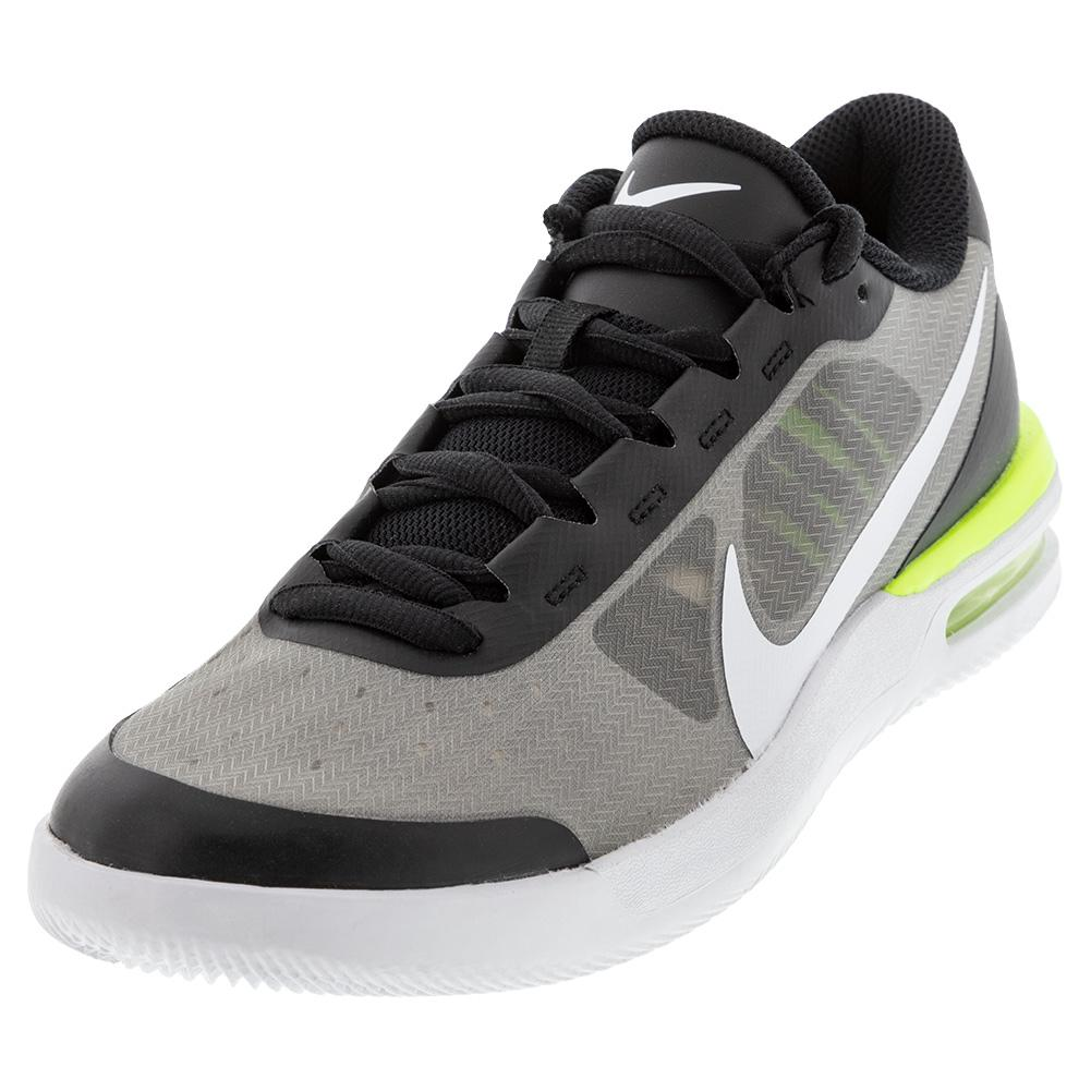 Men's Air Max Vapor Wing Ms Tennis Shoes Black And White