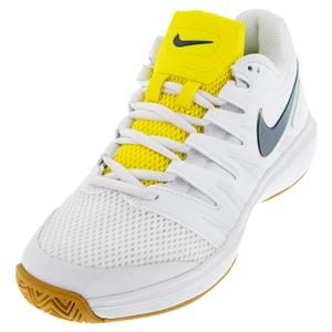 Women`s Air Zoom Prestige Tennis Shoes White and Valerian Blue