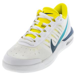 Women`s Air Max Vapor Wing MS Tennis Shoes White and Valerian Blue