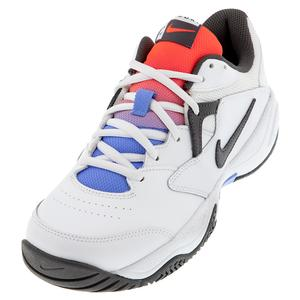 Women`s Court Lite 2 Tennis Shoes White and Thunder Grey