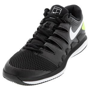 Men`s Air Zoom Vapor X Tennis Shoes Black and White