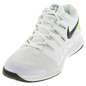 Men`s Air Zoom Vapor X Tennis Shoes White and Black