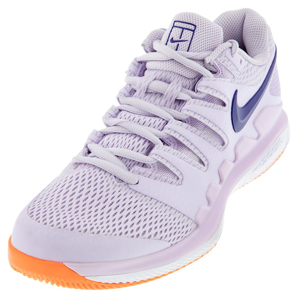 Women's Air Zoom Vapor X Tennis Shoes Barely Grape And Regency Purple