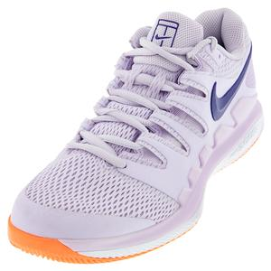 Women`s Air Zoom Vapor X Tennis Shoes Barely Grape and Regency Purple