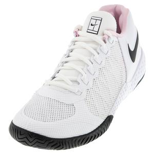 Women`s Flare 2 HC Tennis Shoes White and Black