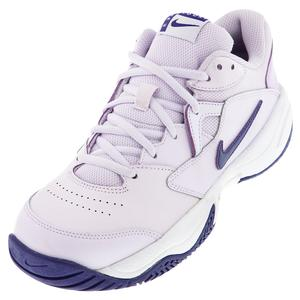 Women`s Court Lite 2 Tennis Shoes Barely Grape and Regency Purple