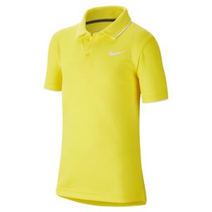 Boys` Court Dry Team Tennis Polo