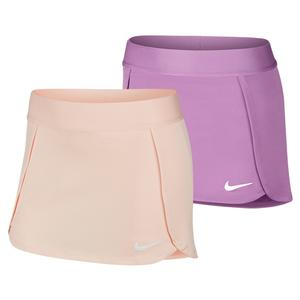 Girls` Court Straight Tennis Skort