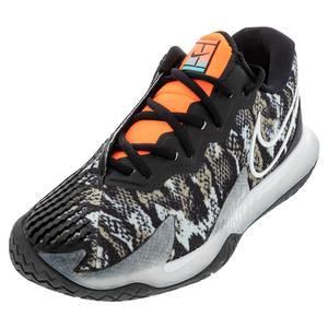 Men`s Air Zoom Vapor Cage 4 Tennis Shoes Photon Dust and White