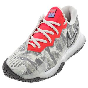 Women`s Air Zoom Vapor Cage 4 Tennis Shoes Platinum Tint and Thunder Grey