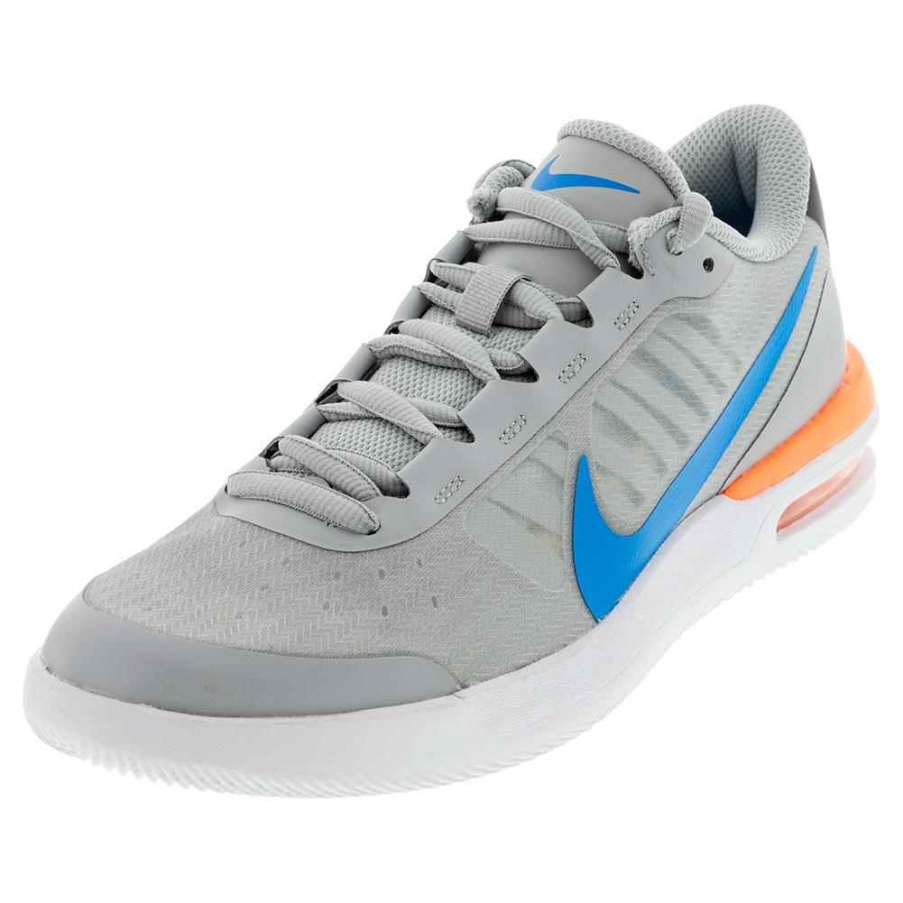 Men's Air Max Vapor Wing Ms Tennis Shoes Light Smoke Grey And Blue Hero