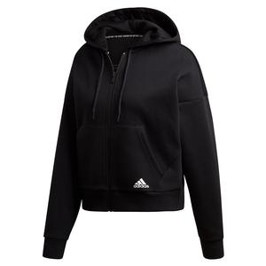 Women`s Must Haves 3-Stripes Double-Knit Hoodie