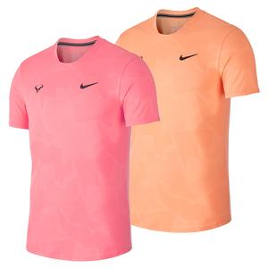 Men`s Rafa Court AeroReact Short Sleeve Tennis Top