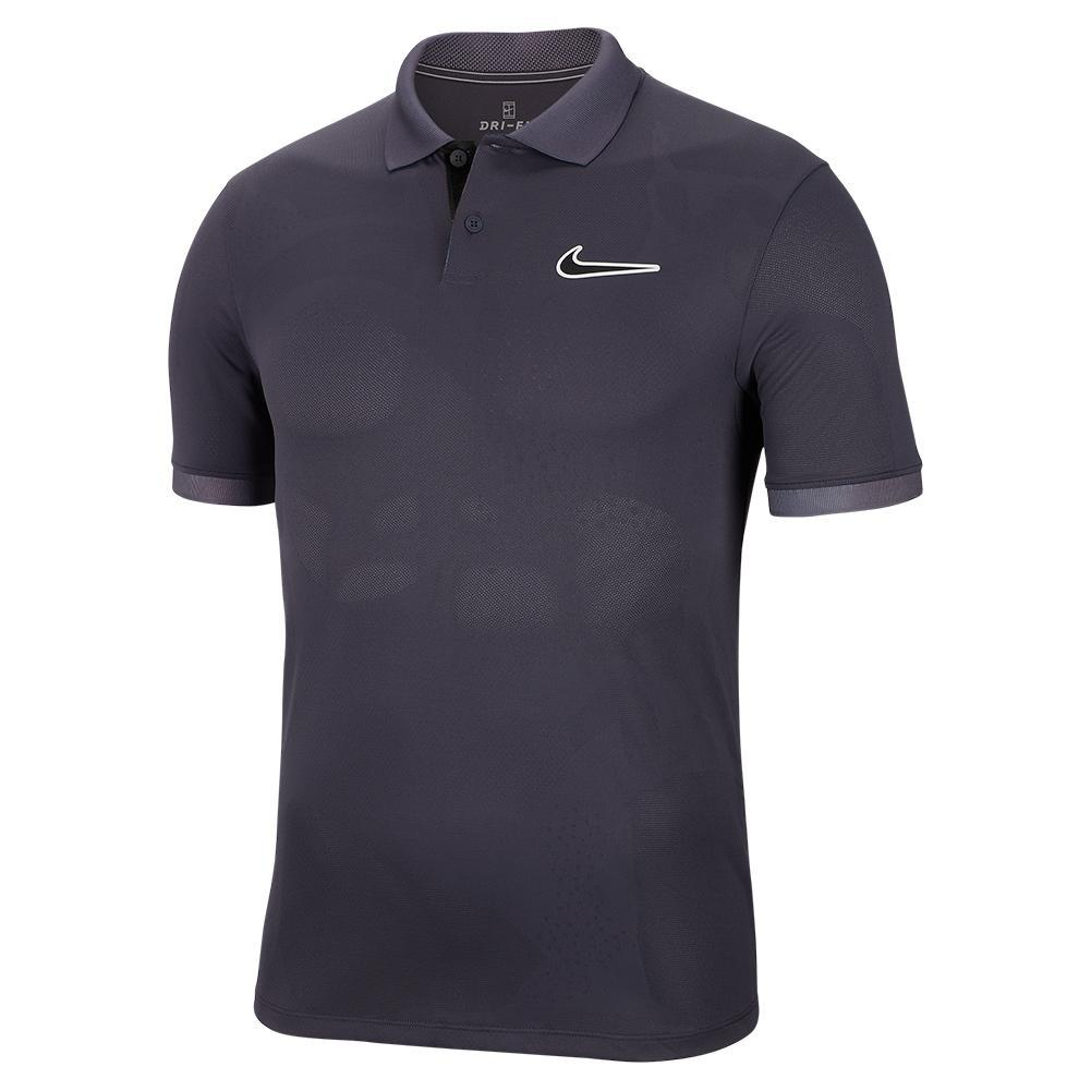 Men's Melbourne Team Court Breathe Advantage Tennis Polo