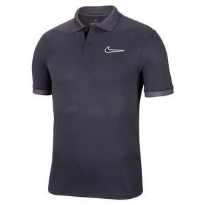 Men`s Melbourne Team Court Breathe Advantage Tennis Polo