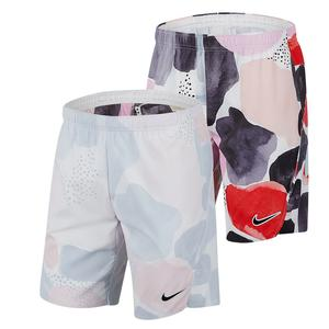 Men`s Melbourne Team Court Flex Ace All Over Print Tennis Short