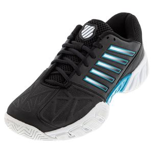 Men`s Bigshot Light 3 Tennis Shoes Black and White
