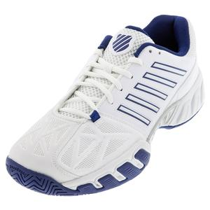 Men`s Bigshot Light 3 Tennis Shoes White and Limoges