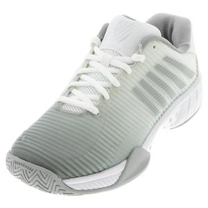 Women`s Hypercourt Express 2 Tennis Shoes White and Highrise