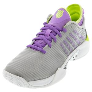 Women`s Hypercourt Supreme Tennis Shoes Silver and Fairy Wren