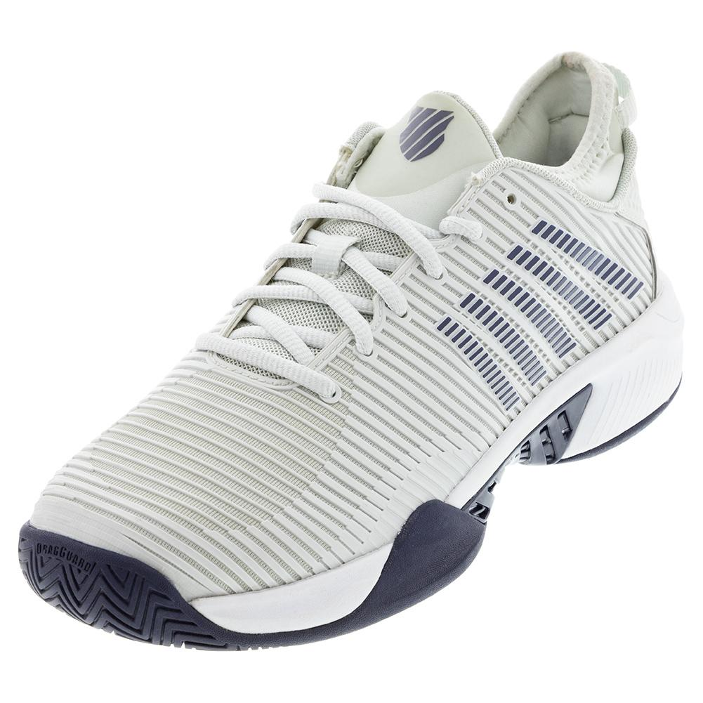 Men's Hypercourt Supreme Tennis Shoes Barely Blue And White