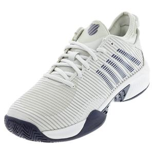 Men`s Hypercourt Supreme Tennis Shoes Barely Blue and White