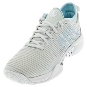 Women`s Hypercourt Supreme Tennis Shoes Barely Blue and White