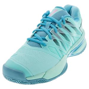 Women`s Ultrashot 2 Tennis Shoes Aruba Blue and Malibu Blue