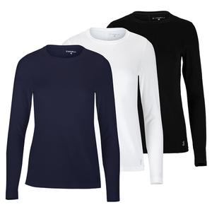 Women`s UV Long Sleeve Tennis Top